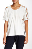 Alberto Makali Lattice Trim Tee
