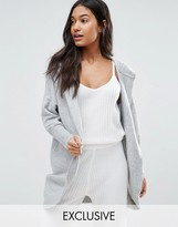 Micha Lounge Hooded Cocoon Cardigan