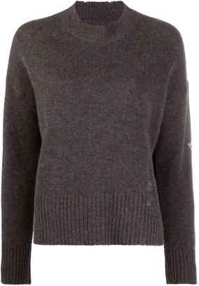 Zadig & Voltaire Starry cashmere jumper