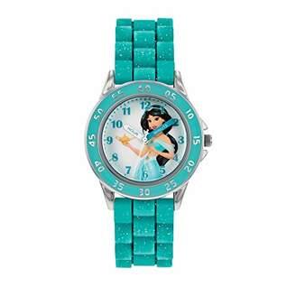 Disney Princess Unisex Adult Analogue Classic Quartz Watch with Rubber Strap PN9008