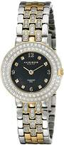 Akribos XXIV Women's AK598TTG Impeccable Diamond Swiss Quartz Bracelet Watch