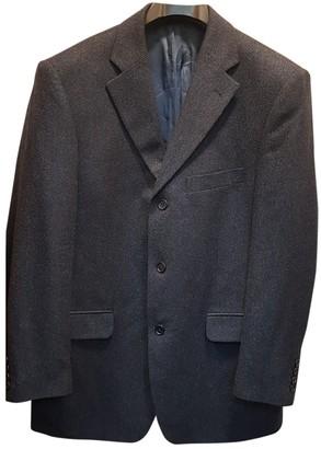 De Fursac Blue Wool Jackets