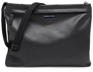 Prada Grace Luxe Leather Shoulder Bag