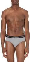 Emporio Armani Pack of two stretch-cotton briefs