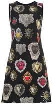 Dolce & Gabbana Heart Print A Line Dress