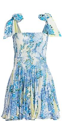 All Things Mochi Darna Patchwork Mini Dress