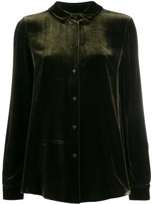 Aspesi Velvet-Texture Shirt