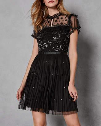 Ted Baker VERETI Embellished tulle dress