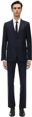 Gucci Natural Wool Blend London Suit