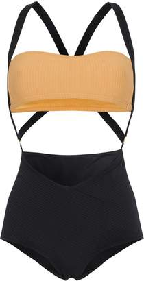Made by Dawn Charlie cut-out swimsuit