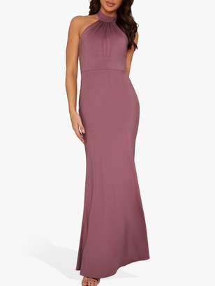 Chi Chi London Keelia Maxi Dress, Pink
