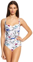 Seafolly Flower Festival Twist Halter One Piece Swimsuit 8152923