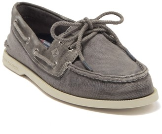 Sperry Authentic Original 2-Eye Garment Wash Boat Shoe