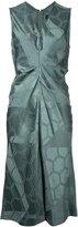 Isabel Marant 'Ravenax' ruched jacquard dress