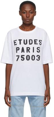 Études White Museum Stencil T-Shirt