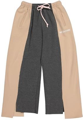 Natasha Zinko \N Pink Cotton Trousers for Women