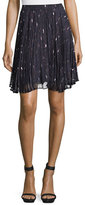 Haute Hippie The Goodnight Pleated Mini Skirt, Ursula