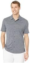 Puma Easy Living Shirt (Peacoat Heather) Men's Clothing