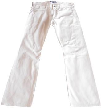 Junya Watanabe White Cotton Jeans