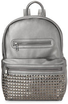 Urban Expressions Pewter Studded Pocket Backpack