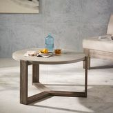 west elm Mosaic Tiled Coffee Table - Solid Concrete