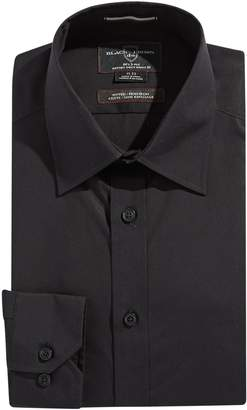 Black Brown 1826 Fitted Non Iron Shirt