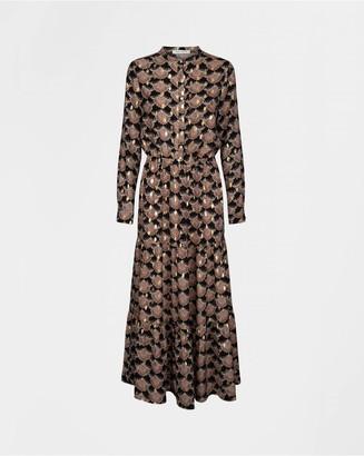 Sofie Schnoor Black Printed Abbi Dress - Small