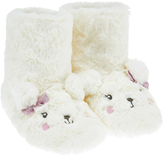 Accessorize Paula Polar Bear Fluffy Slipper Boots