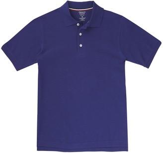 French Toast Boys 4-20 & Husky School Uniform Short-Sleeve Pique Polo
