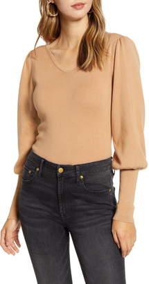 Rachel Parcell Juliet Sleeve Sweater