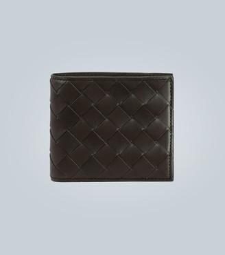 Bottega Veneta Folded leather wallet