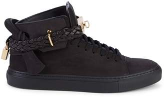 Buscemi Suede Lace-Up Sneakers