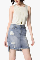 Joe's Jeans Distressed Denim Skirt