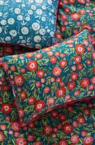 Anthropologie Painted Poppies Pillow Shams