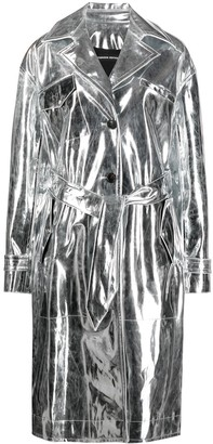 Kwaidan Editions Metallic Trench Coat