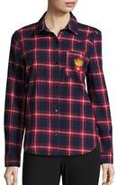 Honey Punch Plaid Button-Down Shirt