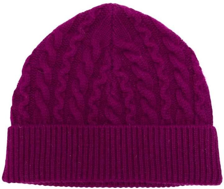 17527a49bab5e Cable Cashmere Hat - ShopStyle