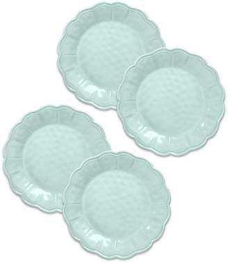 Tarhong Saville Scallop Dinner Plate, Set of 4