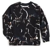 Molo Toddler Girl's Marina Moon Cats Sweatshirt