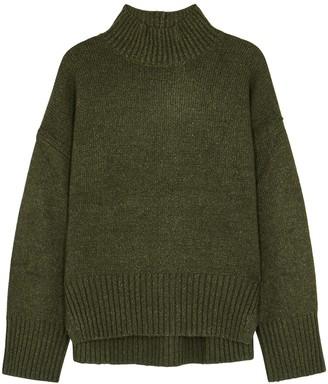 Frame Olive roll-neck wool-blend jumper