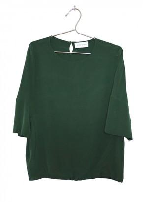 Christian Wijnants Green Silk Tops