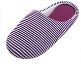 Urban CoCo Unisex Stripes Cotton House Slippers