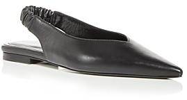 Anine Bing Women's Tara Slingback Pointed Toe Flats