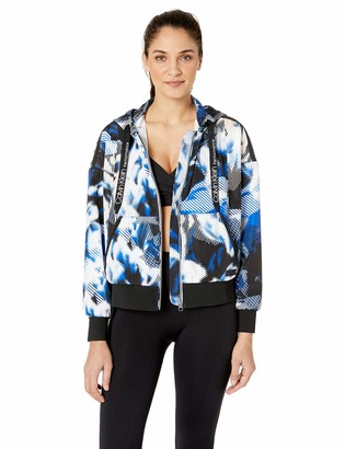 Calvin Klein Women's Hooded Jacket with Side Slits
