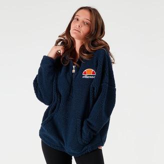 Ellesse Women's Seppy Sherpa Half-Zip Hoodie