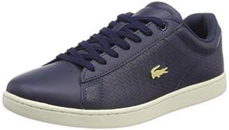 Lacoste Women's Carnaby Evo 119 3 SFA Trainers, Blue (NVY/Off Wht J18)
