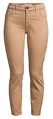 7 For All Mankind Jen7 by Women's Sateen Ankle Skinny Jeans