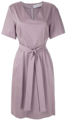 Gloria Coelho Tie Waist Dress