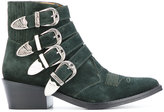 Toga Pulla multi-strap boots - women - Leather/Suede - 36