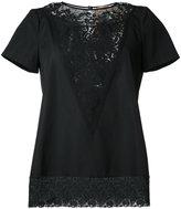 No.21 lace detail T-shirt